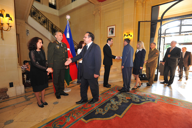 Brussels marks 92nd anniversary of Azerbaijani Armed Forces (PHOTO) - Gallery Image