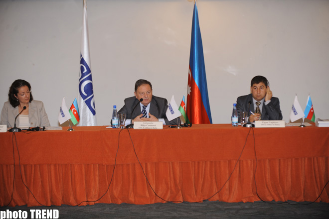 OSCE Baku Office Head: We will continue dialogue with Azerbaijani authorities and opposition on eve of parliamentary elections (PHOTOS) - Gallery Image