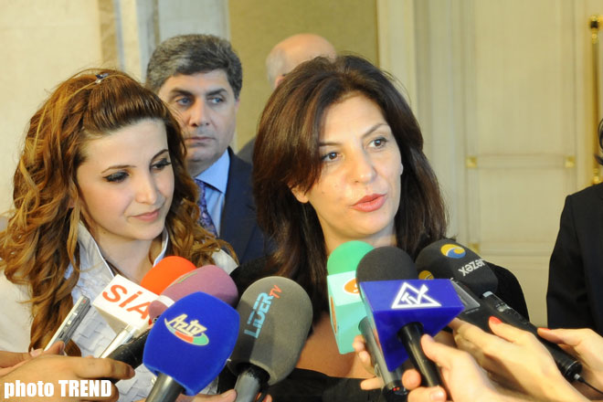 Official visit of Albanian Parliament's speaker starts to Azerbaijan (UPDATE) (PHOTO)