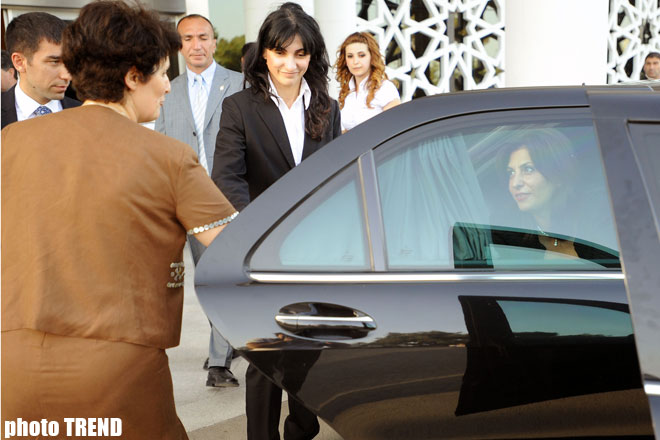 Official visit of Albanian Parliament's speaker starts to Azerbaijan (UPDATE) (PHOTO) - Gallery Image