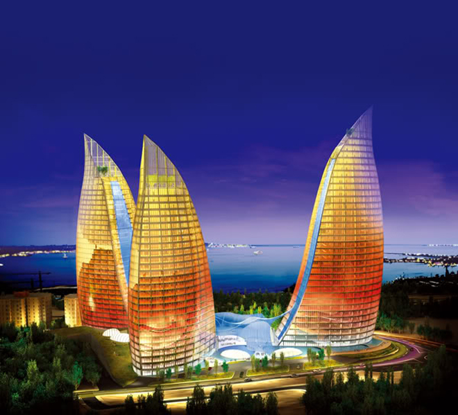Baku to open Flame Tower