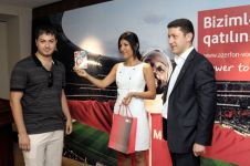 Azerfon-Vodafone announces the winners of its World Football Cup SMS-quiz - Gallery Thumbnail
