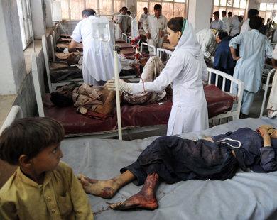73 killed in fresh suicide bomb attack in Pakistan