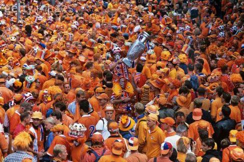 Amsterdam in orange sadness
