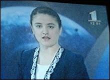 Дочь президента Таджикистана дебютировала в роли диктора ТВ