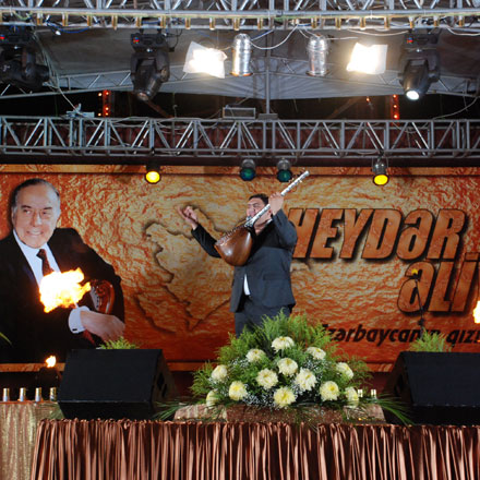 Concert dedicated to the anniversary of Azerbaijani national leader Heydar Aliyev's coming to power was held in Baku (UPDATED) (PHOTOS) - Gallery Image