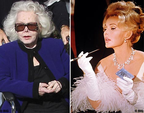 Zsa Zsa Gabor asks for last rites from priest