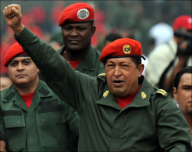 Chavez returns to Venezuela after cancer treatment in Cuba
