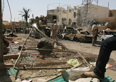 Six killed in two Baghdad bomb blasts - Iraqi police