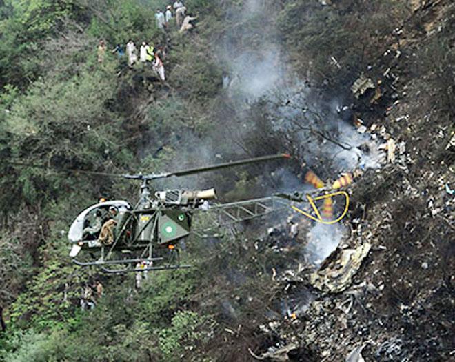 Тела пяти погибших в авиакатастрофе под Кабулом найдены в горах