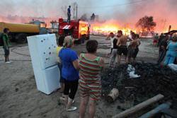 Более 470 строений сгорело в Волгоградской и Саратовской областях