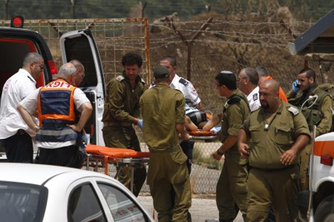 Blasts in eastern Lebanon wound woman, two soldiers