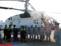 Two Azerbaijani helicopters off to Russia to extinguish fires (PHOTOS) - Gallery Thumbnail