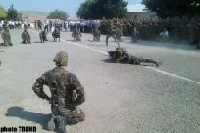 Azerbaijani MP met with youths admitted to military colleges and soldiers taking oath (PHOTOS) - Gallery Thumbnail