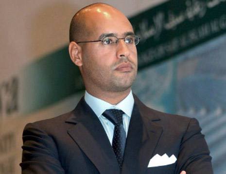 """""""There is no state in Libya:"""" Gaddafi's son"""