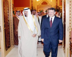 Jordan, Saudi Arabia vow to face fallout of Arab revolts