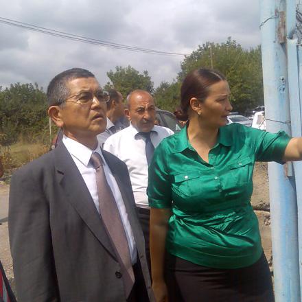 Japanese Ambassador visits Tovuz region of Azerbaijan (PHOTO) - Gallery Image