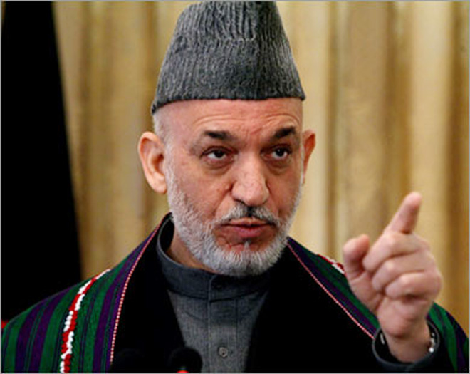 Bagram prison to be handed over to Afghan control, Karzai says