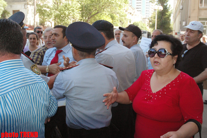 Rally prevented near OSCE office in Baku (PHOTO) - Gallery Image