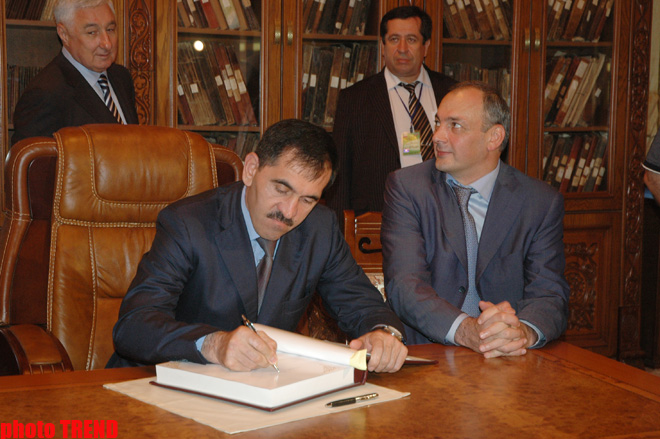 President: Dagestan interested in developing cooperation with Azerbaijan (PHOTOS) - Gallery Image