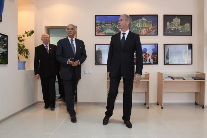 Heydar Aliyev Foundation opens basically repaired modern school in Ulyanovsk city  (PHOTO) - Gallery Image