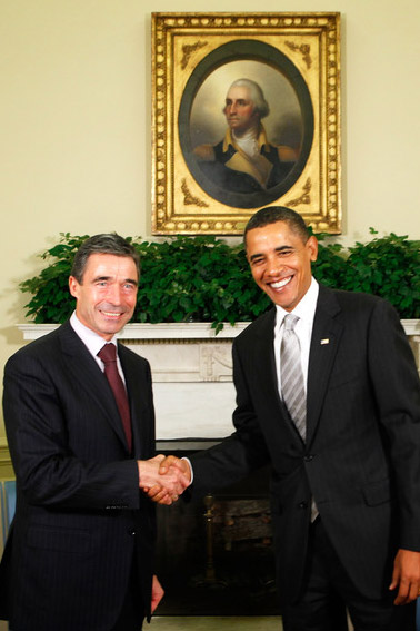 Obama, NATO, renew commitment to Libya, Afghanistan operations
