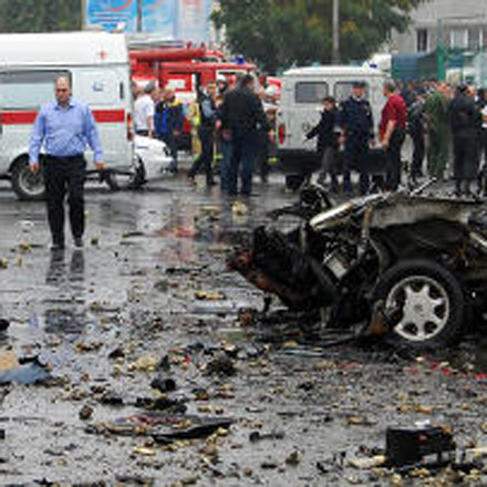 At least 16 killed in car bomb attack in Russian city