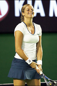 Clijsters on the brink of US Open title hat-trick
