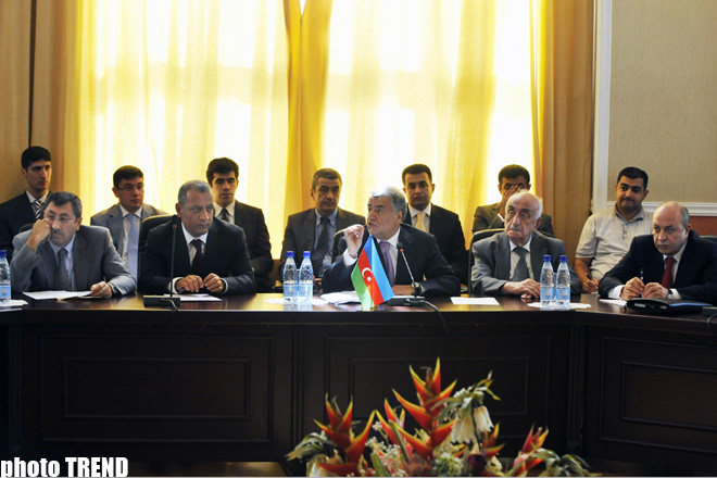 Baku opens ministerial meeting under AGRI project (UPDATED)(PHOTO)