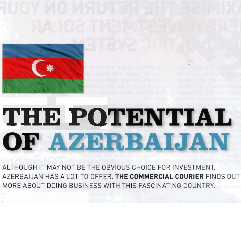 Maltese authoritative journal Commercial Courier urges country's business community to invest in Azerbaijan