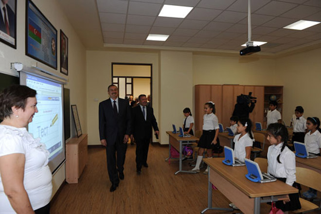 Azerbaijani President inaugurates educational complex in Baku (UPDATED) (PHOTO) - Gallery Image