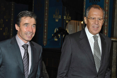 Russia's Lavrov, NATO's Rasmussen discuss bilateral cooperation
