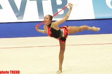 Azerbaijani gymnasts compete in rope exercises in Moscow   (UPDATE) (PHOTOS) - Gallery Thumbnail
