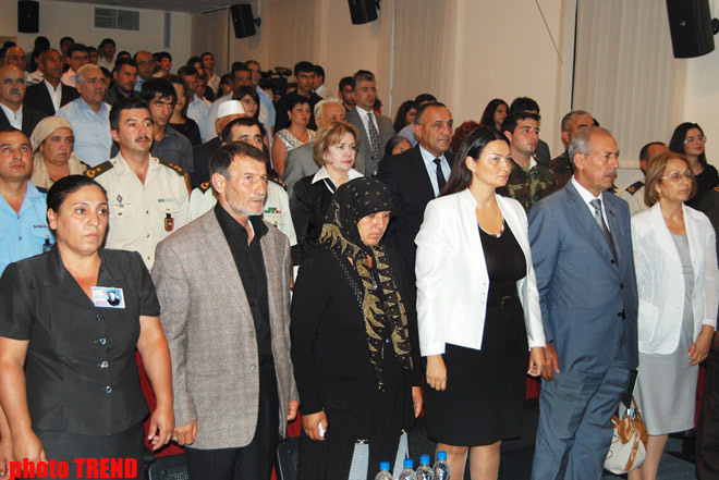 Film devoted to memory of Azerbaijani national hero presented (PHOTO) - Gallery Image