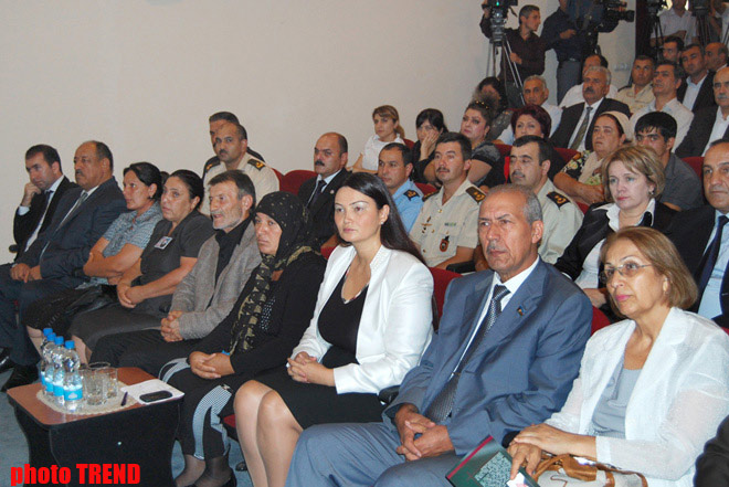 Film devoted to memory of Azerbaijani national hero presented (PHOTO)
