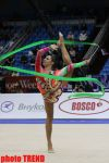 Azerbaijani gymnasts compete in ribbon exercises in Moscow (PHOTO) - Gallery Thumbnail