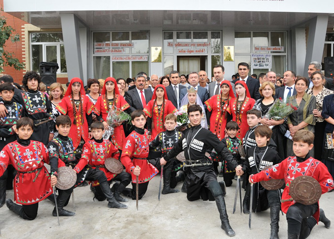 Three Azerbaijani schools repaired with Heydar Aliyev Foundation's support (PHOTO)