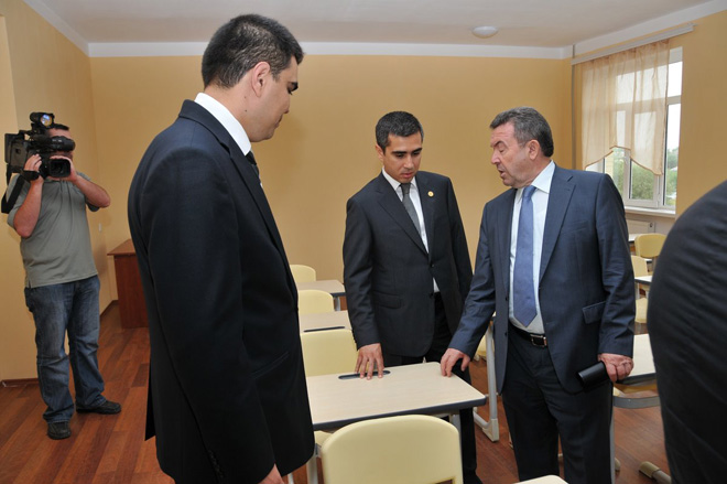 Three Azerbaijani schools repaired with Heydar Aliyev Foundation's support (PHOTO) - Gallery Image
