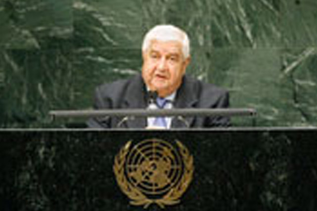 Al-Moallem: Our priority in Dealing with Foreign Affairs and International Relations is to Maintain Syrian and Arab Interests