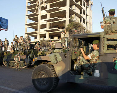 Lebanese soldiers wounded in grenade attack in Tripoli