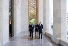Azerbaijani President inaugurates building of Azerbaijan State Academic National Drama Theatre after major reconstruction (PHOTO) - Gallery Thumbnail