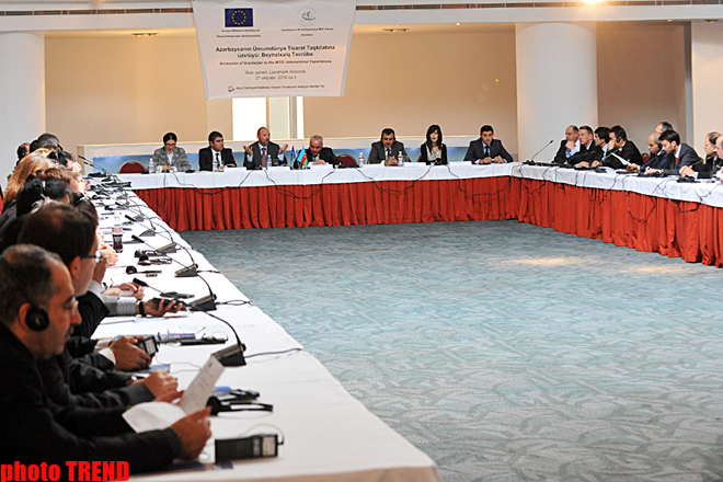 Deputy Minister: Azerbaijan to improve legislation for WTO accession (PHOTO) - Gallery Image