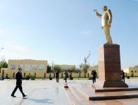 Azərbaycan Prezidenti Sabirabadda orta məktəbin açılışında iştirak edib (YENİLƏNİB) (FOTO) - Gallery Thumbnail