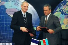 Azerbaijani Communication Ministry, Arianespace sign contract to launch national satellite Azerspace into orbit (UPDATE) (PHOTO) - Gallery Thumbnail
