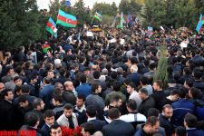 Azerbaijani servicemen buried in second Alley of Honors (UPDATE) (PHOTO) - Gallery Thumbnail