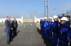 Azerbaijani President opens Khojasan substation (PHOTO) - Gallery Thumbnail