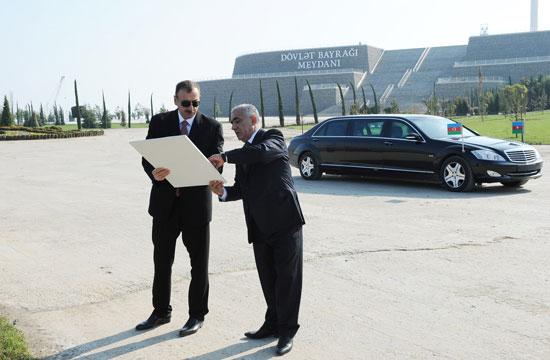 Президент Ильхам Алиев принял участие в открытии Музея Государственного флага (ДОПОЛНЕНО) (ФОТО) - Gallery Image