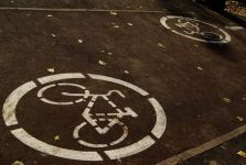 First Central Asian 'bike lanes' open in Almaty (PHOTO) - Gallery Thumbnail