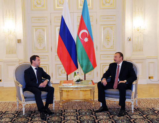 Azerbaijani and Russian Presidents have expanded meeting (UPDATE-2)