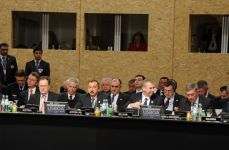 Azerbaijani President attends ISAF meeting (UPDATE)(PHOTO) - Gallery Thumbnail